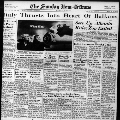 new orleans newspaper archives
